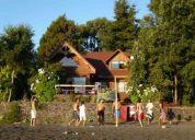 Arriendo casa a orillas del lago calafquen