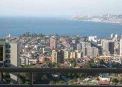 Vacaciones en viÑa depto.amoblado cable wifi vista al mar 50.000 6 personas