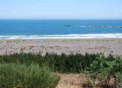 Sitio en la costa con hermosa vista al mar