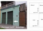 Arriendo local Santiago
