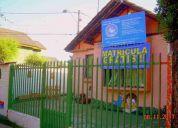 Se arrienda casa habilitada para jardín infantil equipado