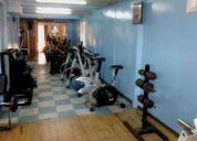 Vendo o arriendo gimnasio (gym ), instalado con maquinas