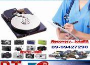 Servicio tecnico formateo y rescate de datos