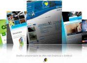 Paginas web! los mejores diseños economicos y profesionales!