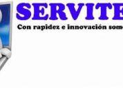 Servicio tÉcnico en computacion a domicilio y empresas.