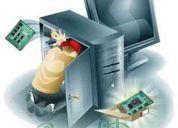 Formateo de computadores y reparaciones de piesas