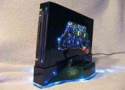 Disco duro 2.5 de 500gb para wii + desbloqueo+targeta sd 2gb + 150 juegos  $67.000