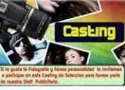 Casting modelos fotografias publicitarias