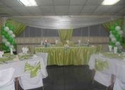 BanqueterÍa para matrimonios, cenas, coctel y producciÓn general de eventos