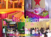 Casa y centro de eventos infantiles peque's