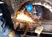Servi-cal2000 mantencion y reparacion de calderas y generadores de vapor.