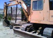 Arriendo excavadora pequeña