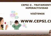 Cepsi ® - tratamiento hiperactividad