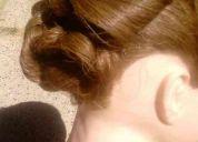 Peinados de novia, noche, fantasia, graduaciones y ocasiones especiales