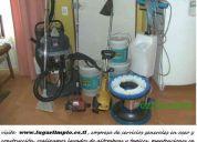 Servicios de aseo y obras menores en construcción