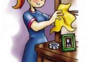 Auxiliar  ó ayudante de labores de casa se necesita
