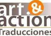 TraducciÓn inglÉs, espaÑol, portuguÉs y japonÉs. art and action traducciones.