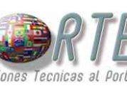 servicios de traducción inglés, español, portugués