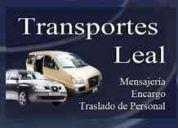 Servicios de traslado de personal, eventos, empresas.