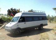 Viajes y turismo 18 personas iveco, butacas reclinables, coritinas, comodidad