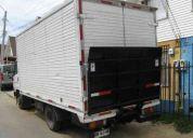 Necesito carga. camiones furgón cerrado con rampa hidráulica ,  v  región.