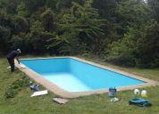 Mantencion y pintura de piscinas