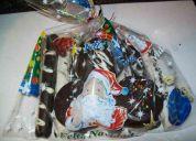 Bolsas con dulces navideñas para empresas colegios etc