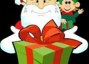 Navidad  con el viejo pascuero.