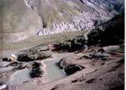 Termas en la region metropolitana pozas colina del maipo /miguel y  frida