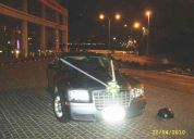 Servicio arriendo auto de lujo, crysler 300 aÑo 2007 para matrimonios