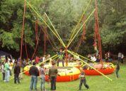Bungye tranpolin toro mecanico tabla de surf giroscopio