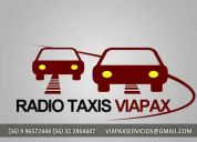 Radio taxis viapax en via del mar 96572444 - 32 2864447