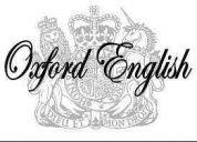 Clases de inglés - profesor británica