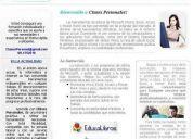 Clases personalizadas y particulares de project