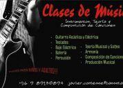 Clases de música :: instrumentos, teoría, taller & composición de canciones