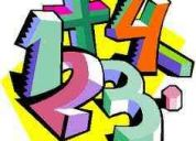 Ofresco clases particulares de matematicas
