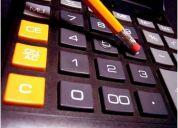 Clases de contabilidad financiera y  costos, finanzas y microeconomia 7000 la hora y media