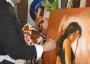 Clases de pintura óleo y acuarela en Ñuñoa f. 2382631