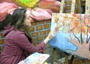 Clases de pintura para niños .prof. ed. básica-pintora