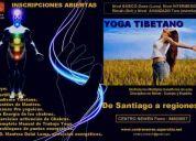 Yoga tibetano, unico en chile, clases grupales club house