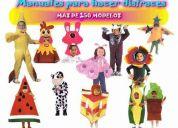 Curso de disfraces para niños + piñatas