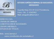 Abogados. estudio juridico bernal & asociados