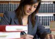 Estudiante de derecho con ius postulandi.