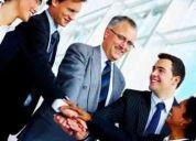 ejecutivos de negocio y lideres de equipos