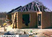 Trabajos en metalcon  o vulcometal  maestro especialista  viviendas completas