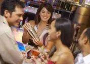 Se necesita barman o bartender con experiencia para restaurante en hotel