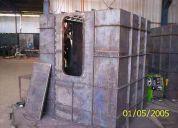 Estructuras metálicas, fabricacion de estructuras metalicas, soldaduras.