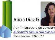 ADMINISTRADOR EDIFICIOS Y CONDOMINIOS, INMOBILIARIAS