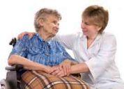 Cuidadora adulto mayor