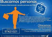 Promotores/vendedores en Providencia